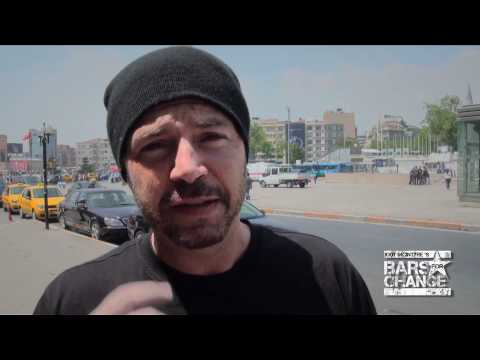Bun B (UGK) and DJ Muggs (Cypress Hill) on Jody McIntyre's Bars For Change