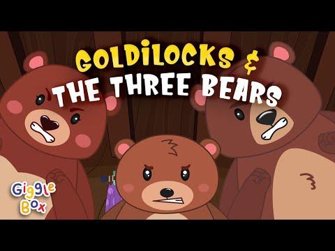 Goldilocks And The Three Bears |  Fairy Tales | Gigglebox
