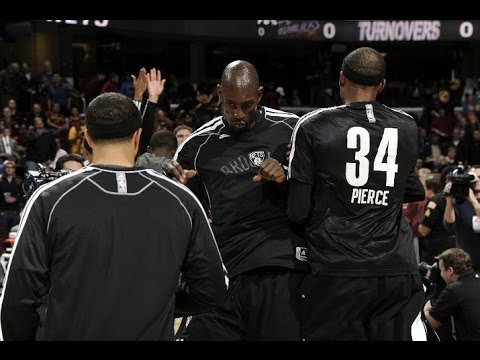 Paul Pierce & Kevin Garnett debut for the Brooklyn Nets - Highlights vs Cleveland Cavs 10/30/2013