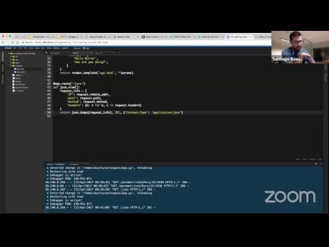 FREE Class - Introduction to Web Development using Python and Flask