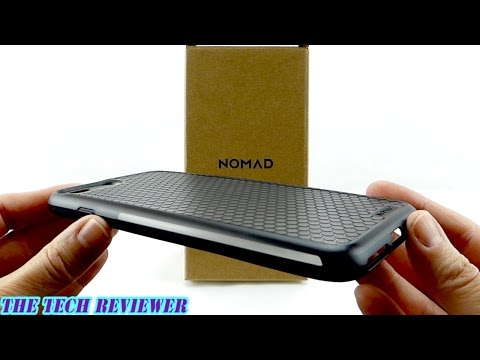 6 Ft Drop Protection in an Inexpensive, Attractive Case? Nomad Rugged Case for iPhone 7 Plus!