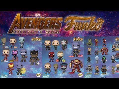 lo nuevo de avengers infinity war   funko - youtube