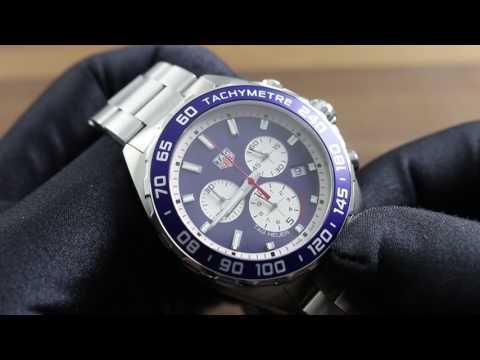020ef5dc0de TAG Heuer Formula 1 Chronograph Red Bull Special Edition CAZ1018.BA0842  Showcase Review - YouTube