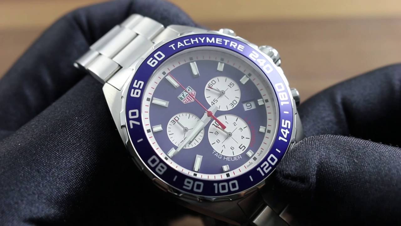 e79c7e09912 TAG Heuer Formula 1 Chronograph Red Bull Special Edition CAZ1018.BA0842  Showcase Review - YouTube