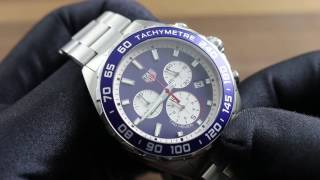 TAG Heuer Formula 1 Chronograph Red Bull Special Edition CAZ1018.BA0842 Showcase Review