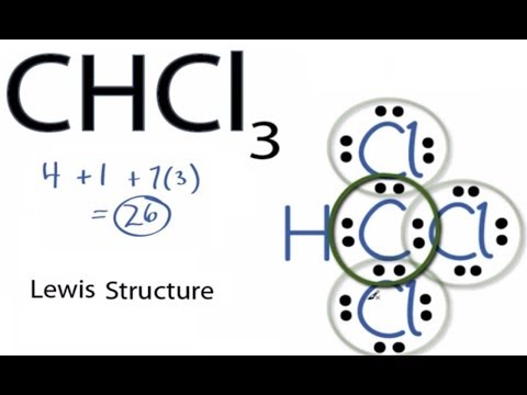 CHCl3 Lewis Structure: How To Draw The Lewis Structure For CHCl3