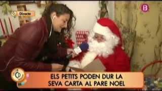 La Casa de Papá Noel en S'Arenal en el programa Cada Día, de IB3