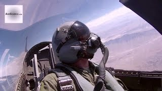 Awesome Cockpit View: F-16D Missiles Live-Fire - Weapons System Evaluation Program
