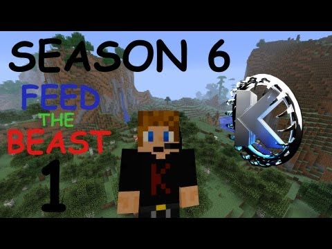 Minecraft FTB Let's Play (Season 6) - Part 1: Welcome to Feed the Beast