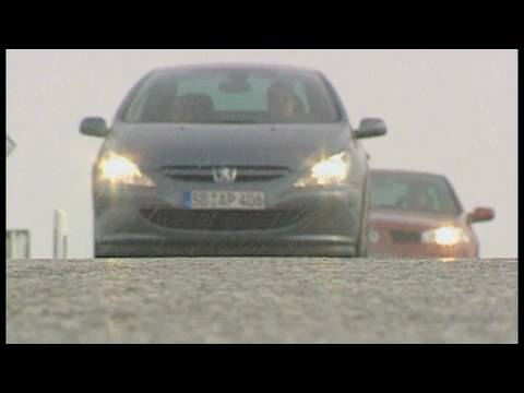 renault megane cc 2.0 vs. peugeot 307 cc 135: klappdach-cabrios im