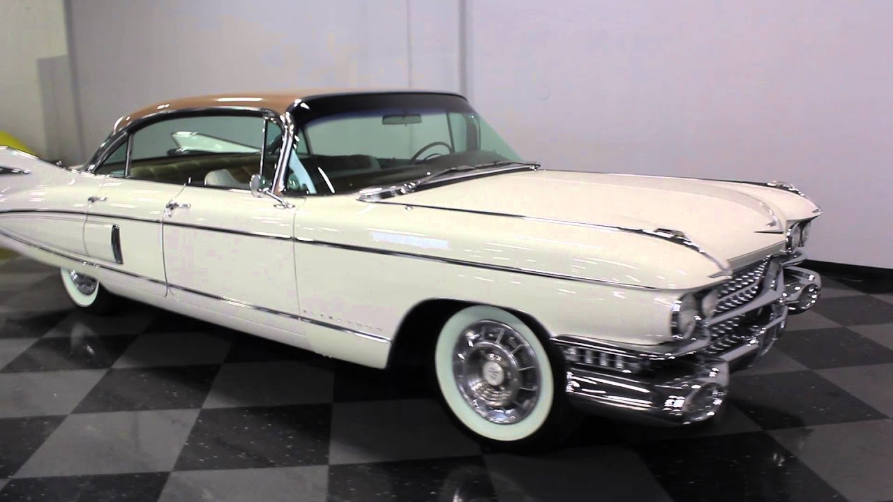 1624 DFW 1959 Cadillac Fleetwood 60 Special Sedan - YouTube