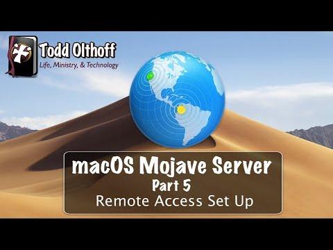 macOS Mojave Server Part 4: Remote Access Set Up