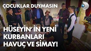 Hüseyin'in yeni kurbanları Havuç ve Simay! - Çocuklar Duymasın 68. Bölüm