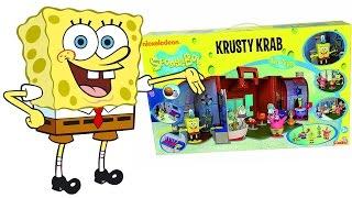 SPONGEBOB Italiano - Apriamo il Ristorante Krusty Krab di SpongeBob [Apertura Gioco per Bambini]