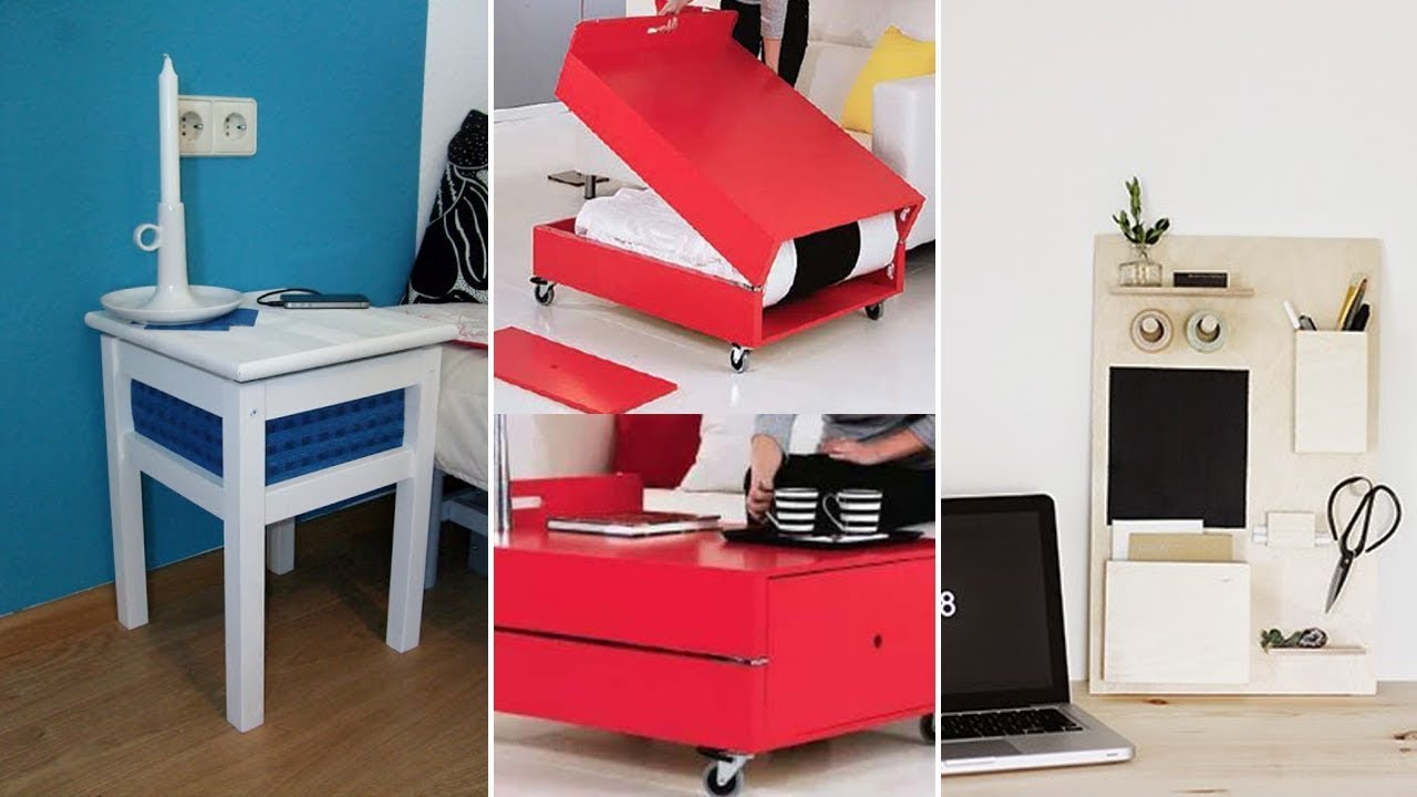 80 DIY Bedroom Storage Ideas - YouTube
