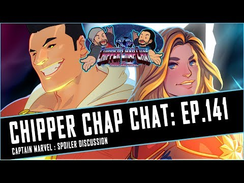 Chipper Chap Chat - Captain Marvel Spoiler Discussion With Art Time-Lapse