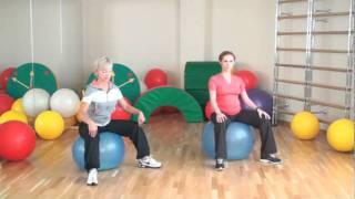 Тренировка с беременными, 2-й триместр