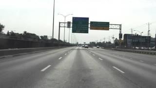 Lafontaine Expressway (Autoroute 25 Exits 10 to 4) southbound
