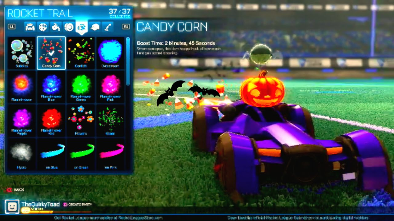 Rocket League   Halloween UPDATE! - YouTube