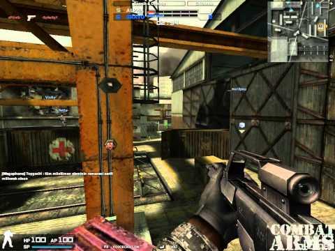 Combat Arms Europe Clanwar Black Shot vs. InVisualGaming (im Predict0R aka. aLiieN-) |