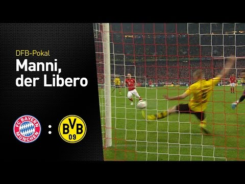 Manni Bender blockt | FC Bayern München - BVB 2:3