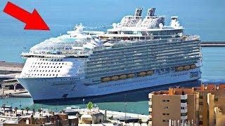 Топ-3 самых больших круизных лайнера в мире