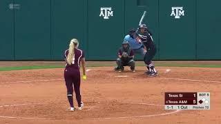 Softball: Highlights | A&M 6, Texas State 3/A&M 1, Utah 0 screenshot 1