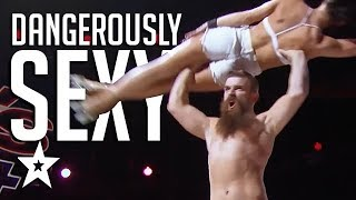 DANGEROUS SKATERS Billy & Emily GET JUDGES IN A SPIN On America's Got Talent | Got Talent