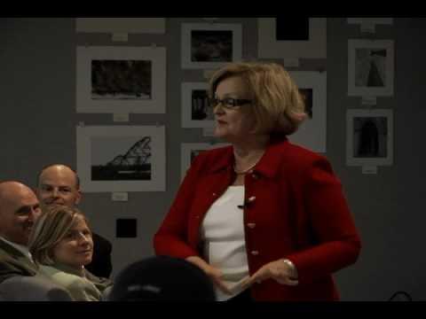 Sen. McCaskill Speaks in Rolla, MO