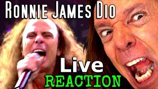 Vocal Coach Reacts To Ronnie James Dio Live Medley - Ken Tamplin