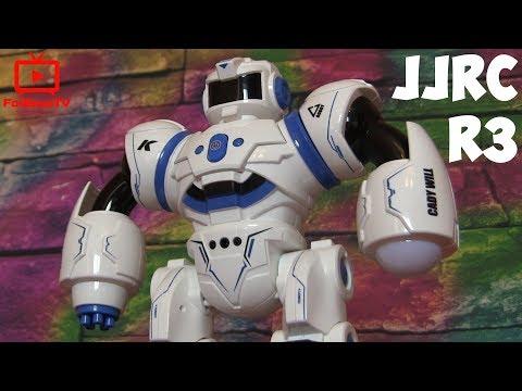 Интерактивный боевой робот на радиоуправлении JJRC R3 CADY WILL - распаковка и обзор