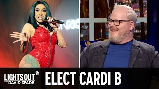David Spade Knew Cardi B Might Run for Office (feat. Jim Gaffigan) - Lights Out with David Spade