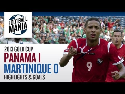 Gold Cup 2013 - Panama 1 x 0 Martinique - Highlights & Goal