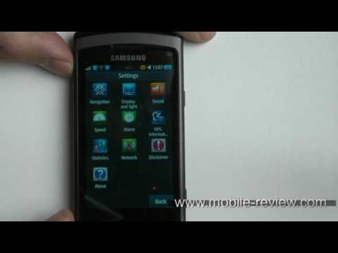 Samsung Wave S8500 Navigation - Route66 Demo