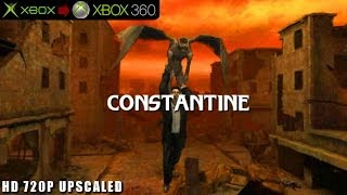 Constantine - Gameplay Xbox HD 720P (Xbox to Xbox 360)