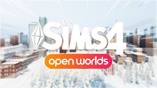 Sims 4 Open World Mod Update: Cars, 3D Map View, and MORE (The Sims 4 mods)