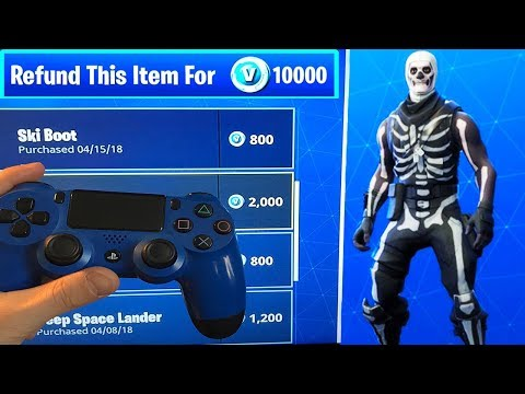 REFUND SYSTEM IS COMING BACK! (Fortnite Battle Royale) How to Refund Skins & Items for vBucks!
