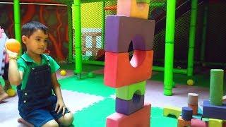 Legoland Playground for kids + Indoor Playground at Zippyland Amusement Park!!