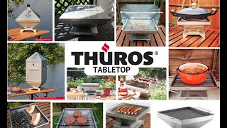 ThÜros Tabletop Bbq - Out The Box And On The Table