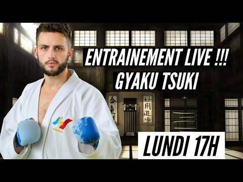 ENTRAINEMENT LIVE !!!! GYAKU TSUKI !!!
