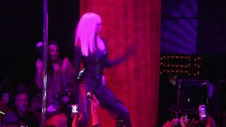 Ciara performing for her birthday costume party at HAZE 10.29.