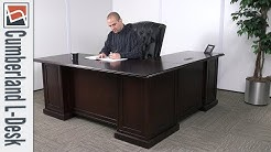 Office Desk | NBF Signature Series Cumberland L-Desk | National Business Furniture