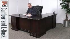 Office Desk   NBF Signature Series Cumberland L-Desk   National Business Furniture