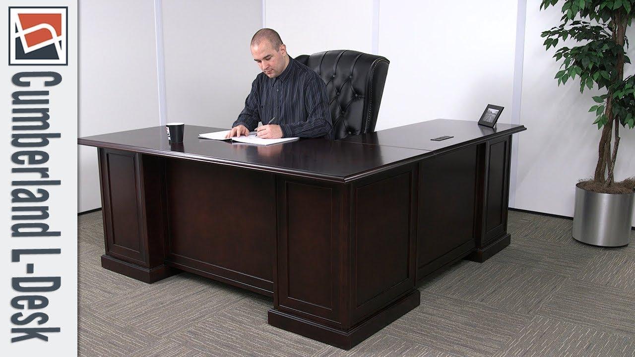 Office Desk Nbf Signature Series Cumberland L Desk National Business Furniture