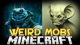Minecraft Mods   WEIRD MOBS MOD! (Creepy Mobs, Armor, and More) - Minecraft Mod Showcase