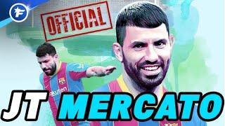 OFFICIEL : le Barça boucle l'arrivée de Sergio Agüero | Journal du Mercato