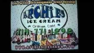 Archie's Ice Cream Commercial on Cable TV - 1998 Thumbnail