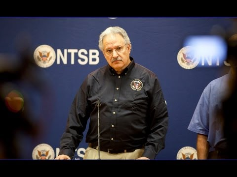 Member Rosekind briefs media on Midland,Texas, railroad grade crossing accident. November 18, 2012