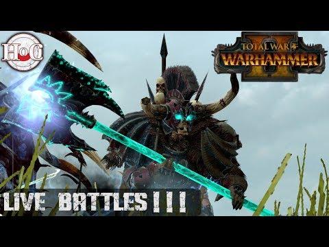 Battles with Viewers Live Stream - Total War Warhammer 2 - Online Battle 231