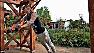 Trening z taśmami TRX // Anatomia Superbohatera